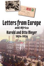 Letters from Europe 1924-1926 by Harold and Otto Meyer