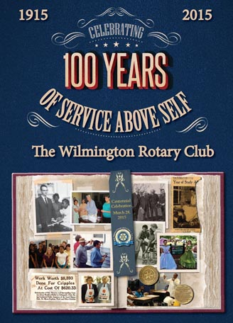 Wilmington Rotary Club centennial history book