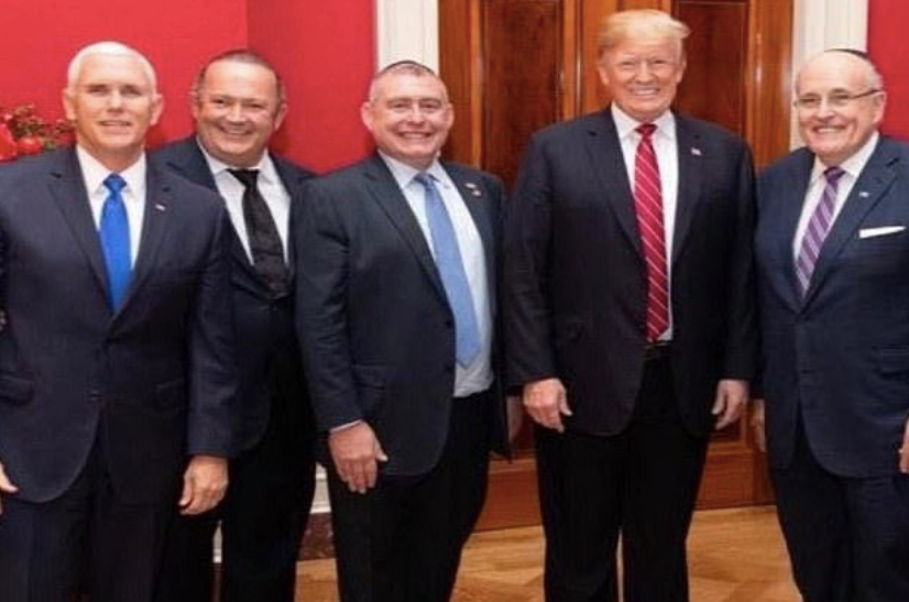 Among witnesses the Senate should subpoena in Trump's impeachment trial are Mike Pence, Rudy Giuliani and Lev Parnas (center) who says Trump was at the center of the Ukraine extortion scheme.